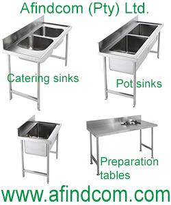 stainless steel catering sink south africa zambia botswana mozambique