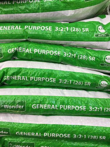 fertilizer recommendation calculation bags vegetables