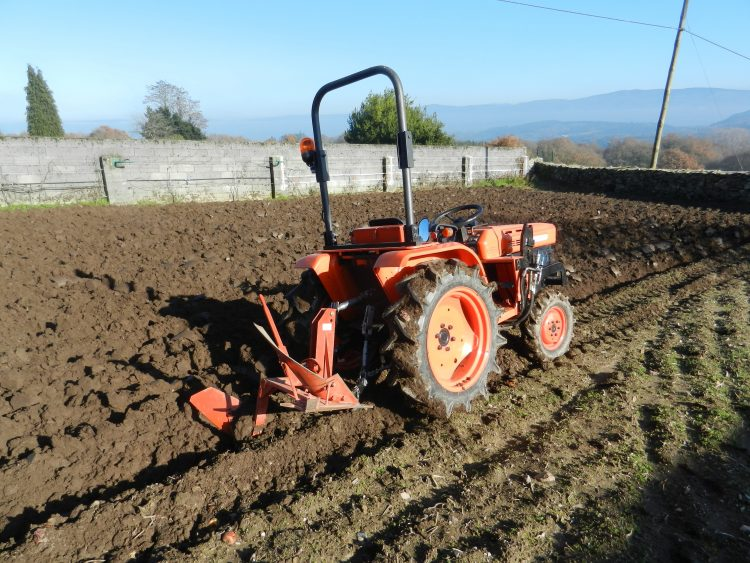 smaller tractors prevent soil compaction