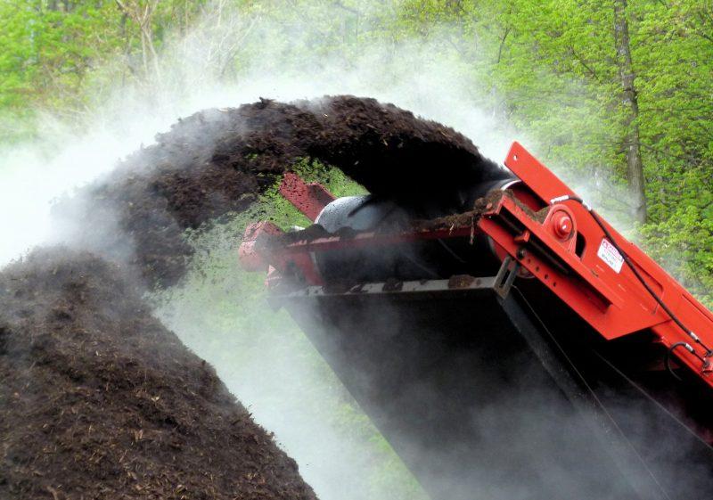 Natural fertilizer compost